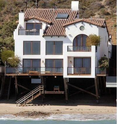 Aktör John Cusak'ın Malibu'daki evi